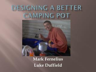 Designing a Better Camping Pot