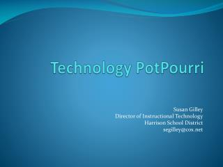 Technology  PotPourri