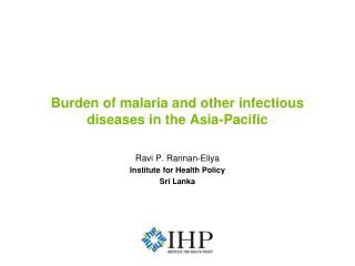 Burden of malaria and other infectious diseases in the Asia-Pacific