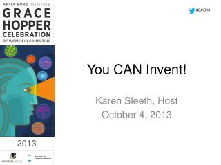 You CAN Invent!