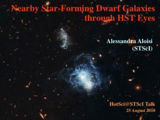 Nearby Star-Forming Dwarf Galaxies  through HST Eyes