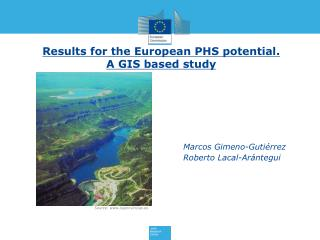 Results for the European PHS potential. A GIS based study