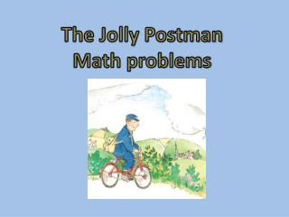The Jolly Postman Math problems
