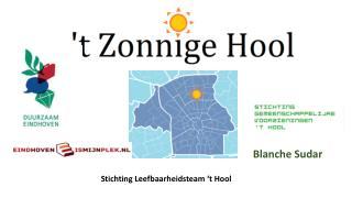 Stichting Leefbaarheidsteam  �t  Hool
