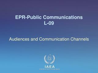 EPR-Public Communications L-09