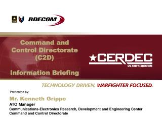 Command and Control Directorate C2D  Information Briefing