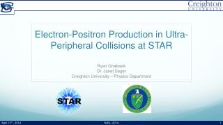 Electron-Positron Production in Ultra-Peripheral Collisions at STAR