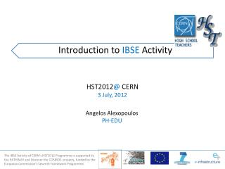 Introduction to IBSE Activity