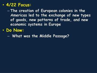 4/22 Focus: