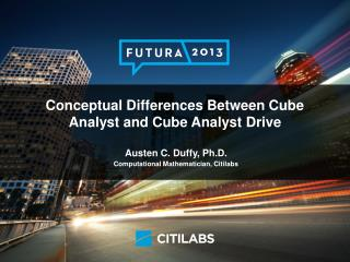 The  Cube Analyst  Suite