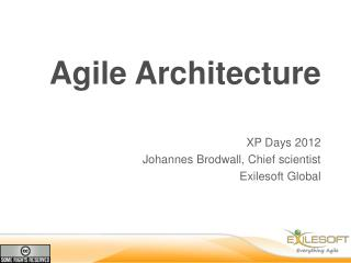 Agile Architecture