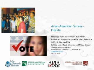 Asian American Survey - Florida