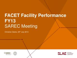 FACET Facility Performance FY13