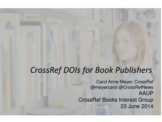 CrossRef DOIs  for Book Publishers