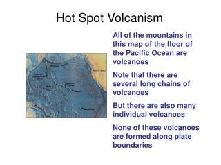 Hot Spot Volcanism