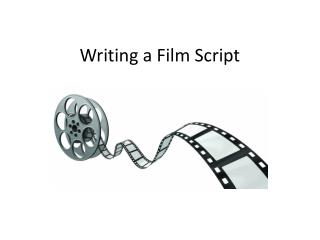 Writing a Film Script