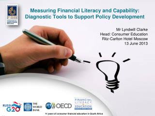 Measuring Financial Literacy and Capability: Diagnostic Tools to Support Policy Development