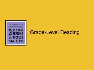Grade-Level Reading