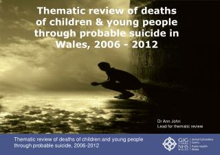 Thematic review of deaths of children and young people through probable suicide, 2006-2012