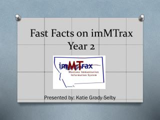 Fast Facts on imMTrax Year 2