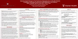 Rattan Juneja MD ; Michael E. Stuart, MD2,3; Sheri A. Strite3  Indiana University School of Medicine, Indianapolis, Indi