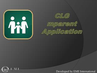 CLG mparent  Application