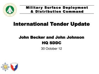 International Tender Update