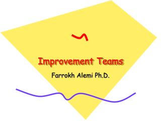 Improvement Teams
