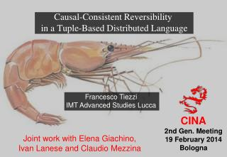 Causal-Consistent Reversibility  in a Tuple-Based Distributed Language