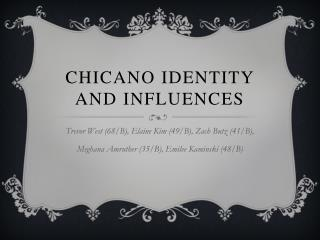 Chicano Identity and Influences