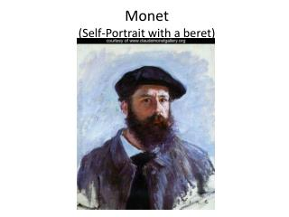 Monet (Self-Portrait with a beret)