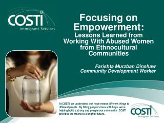 Focusing on Empowerment: