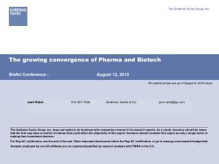 The growing convergence of Pharma and Biotech