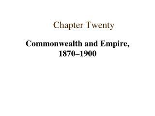 Chapter Twenty