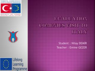 Evaluation comenius visit TO  italy