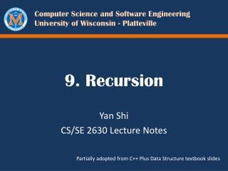 9. Recursion
