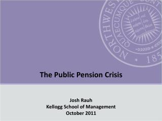 The Public Pension Crisis