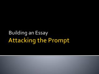 Attacking the Prompt