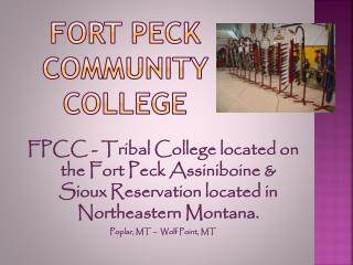 Fort PECK COMMUNITY COLLEGE