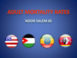 Adult Mortality Rates