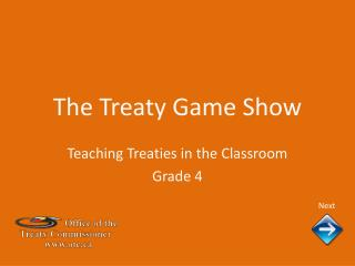 The Treaty Game Show