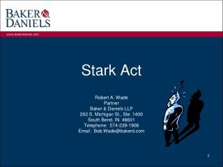 Stark Act