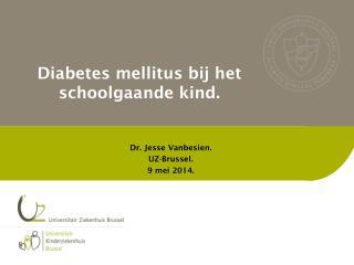 Diabetes mellitus bij het schoolgaande kind .