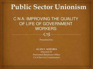 Public Sector Unionism