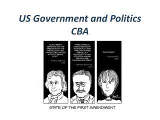 US Government and Politics CBA
