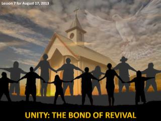 UNITY: THE BOND OF REVIVAL