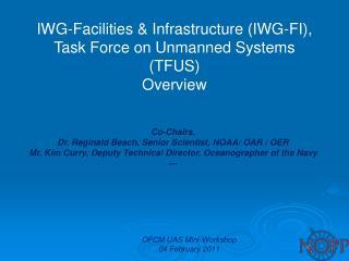 OFCM UAS Mini-Workshop 04 February 2011