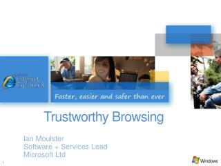 Trustworthy Browsing