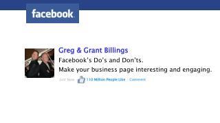 Greg & Grant Billings