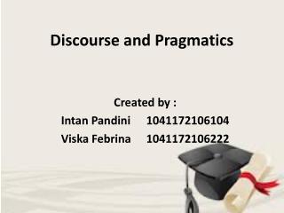 Discourse and Pragmatics